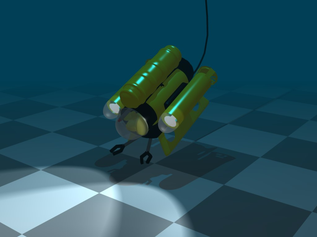3ds remotely operated exploration vehicle