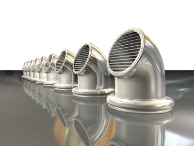 3d model vent pipe