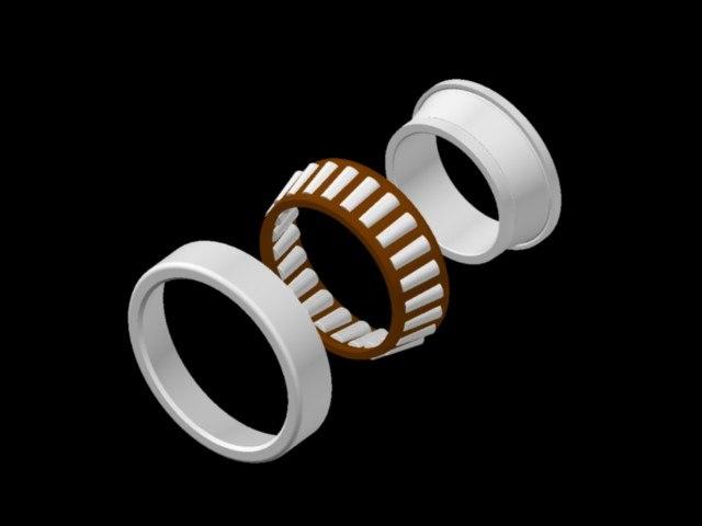 3d wheel bearing