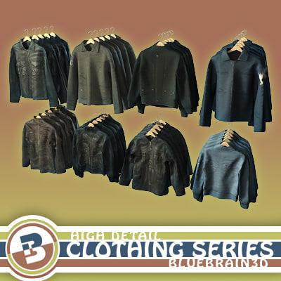 clothing series - hung 3d model