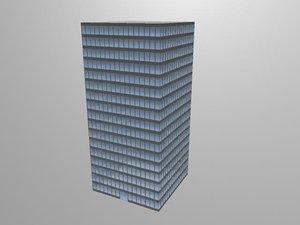 free skyscraper city 3d model