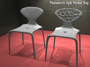 supernatural chairs 3d model