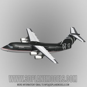 3ds max british aerospace 146-200 titan