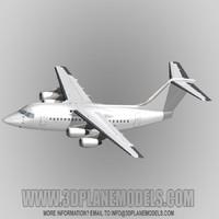 british aerospace 146-100 80 3d max