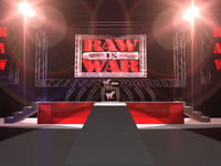 arena wwf raw war 3d model