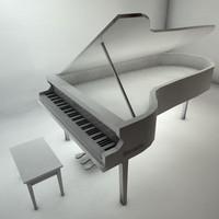 3dsmax piano