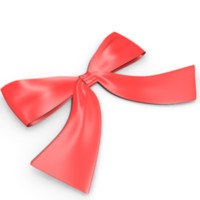 3d model ribbons bow presents