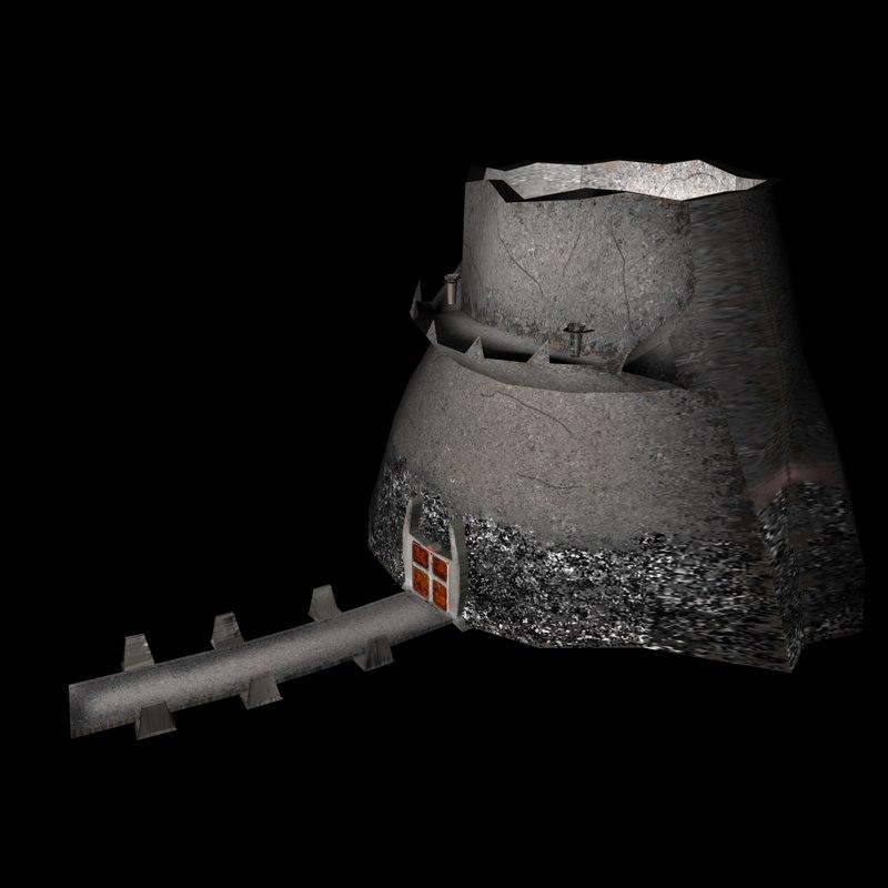 mountain carn orcs 3d model