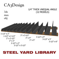 3d 1 unequal angle