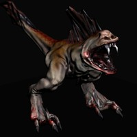 evil monster creature max free