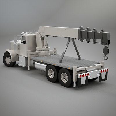 semi trailer truck 3ds