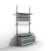 3d model shelving