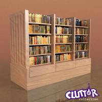 3d model library dvd