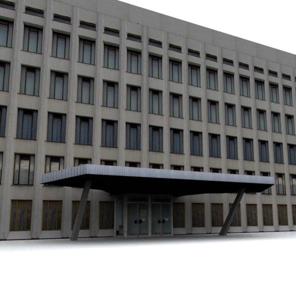 office building 3d wrl