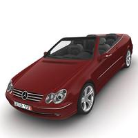 2004 Mercedes - Benz CLK W209 Cabrio