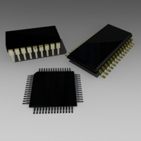 3ds max chip microprocessor