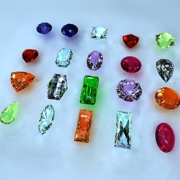 maya ultimate gem cut