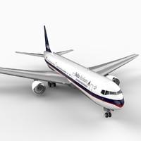 767-300 delta 3d lwo