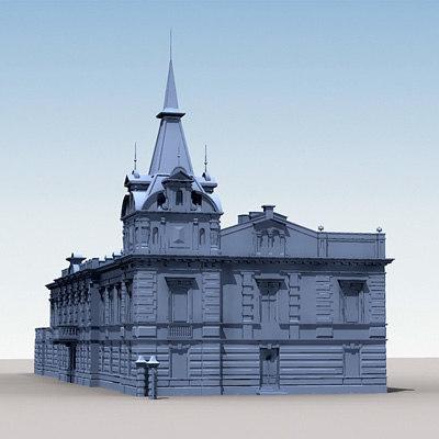 3ds scheilbler palace mansion
