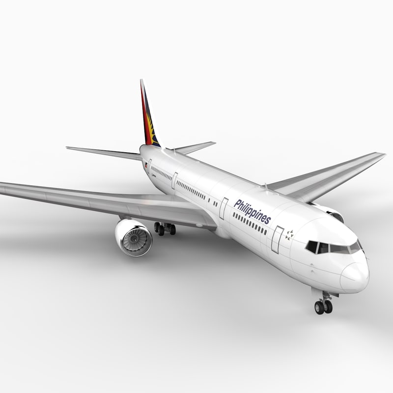 3ds max 767-300 philippine air