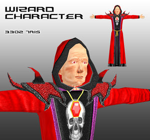 free x mode wizard character games