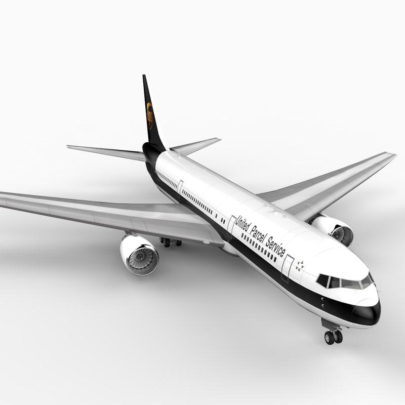 3dsmax 767-300 ups