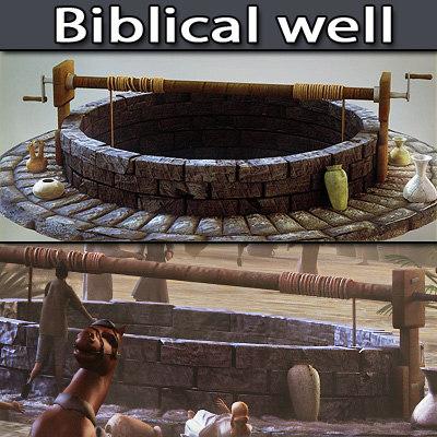 3d biblical model