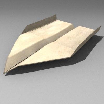 3ds paper plane