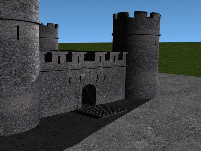 castle 3d lwo