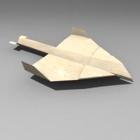 paper plane lwo