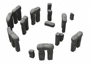 stonehenge old stone 3d model