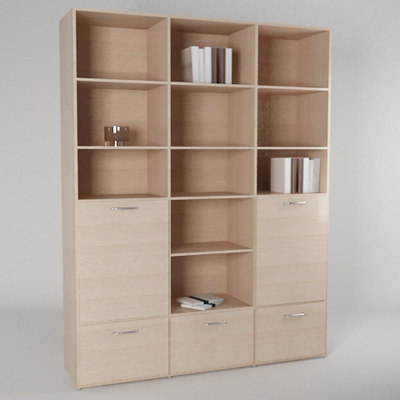 book shelv boconcept 3d model