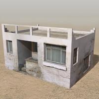 arab houses 3d model