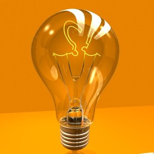 electric light bulb 3ds