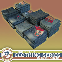 Clothing - Jeans - Folded