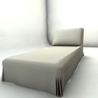 chair long 3d model