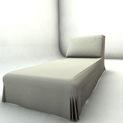 chair long 3d model