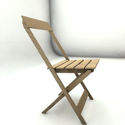 circus chair 3d model