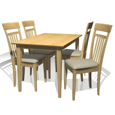 contemporary table chair set lwo free