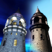 Galata Tower_day&night