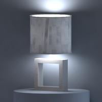 Table_Lamp+mat.rar