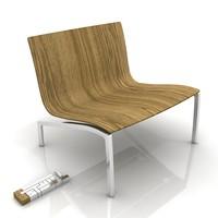 fritz-hansen piero lissoni chair 3d max