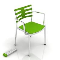 3d fritz-hansen ice chair