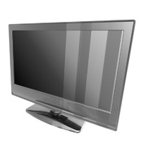 sony bravia flatscreen tv 3d model