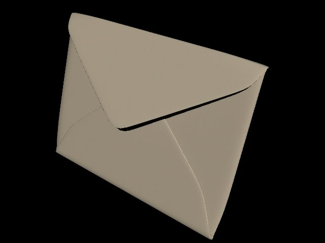 envelope 3d lwo