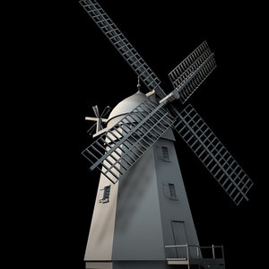 3d windmill wind