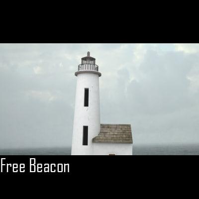free lighthouse 3d model