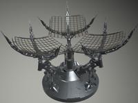 electronics communication 3d model