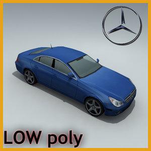3d model mercedes cl s