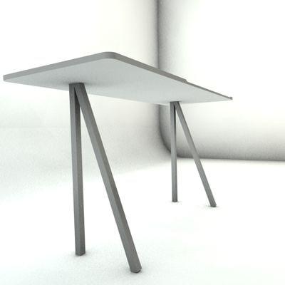 3d bouroulle desk
